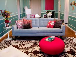 Red And Blue Living Room Red And Turquoise Living Room Living Room Design Ideas