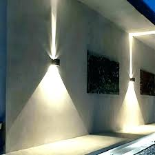 modern exterior sconce mid century sconces light led outdoor wall up down contemporary outside lights