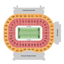 Notre Dame Stadium Seating Chart Garth Brooks Notre Dame Football Tickets Schedule Ticketiq
