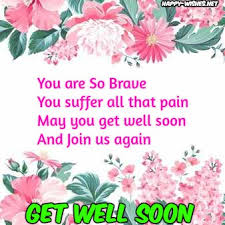 Get Well Wishes Quotes Get well soon quotes Happy Wishes 6