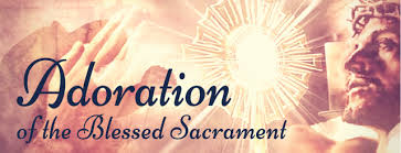 Image result for images of adoration of the blessed sacrament