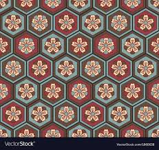 Japanese Pattern Magnificent Seamless Japanese Flower Pattern Royalty Free Vector Image