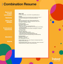 Resume format choose the right resume format for your needs. Combination Resume Tips And Examples Indeed Com