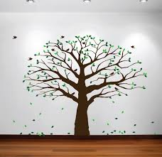 Family tree wall decal tree wall decal for picture frames in chestnut brown small size: Family Tree Wall Decal From Innovative Stencils