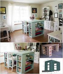 10 cool diy craft table ideas for your