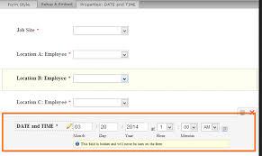 Attendance List Form Create An Jotform Which To Track Employee Attendance Employee List