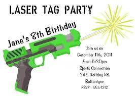 Free Laser Tag Invitation Template Invitation Free Printable Laser Tag Invitation Template