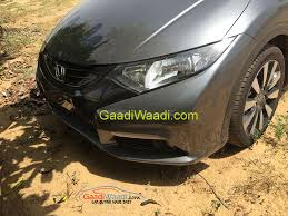 new car release in india2015 Honda Civic Spotted in India release details under wraps