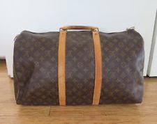louis vuitton luggage men. louis vuitton keepall bandouliere monogram luggage bag size 50 m41416 louis vuitton luggage men