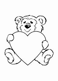 Kleurplaat Skylanders Mooi Teddybeer I Love You Kleurplaat Archidev