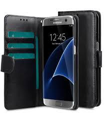 melkco mini pu cases for samsung galaxy s7 edge wallet book type black pu