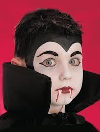 vampire face paint vampire face paint step add the finishing touches goodtoknow