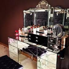 ideas mirrored furniture. vanity u003c3 luxury house home decoration decor desing interrior bath bedroom livingroom mirrored vanitymirrored furnituremakeup ideas furniture a