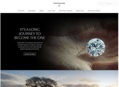 page and conceptually driven imagery full width position highlights symmetry and balance within the layout great jewelry design exle overall