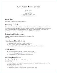 New Nursing Graduate Resume Resume For New Nursing Graduate Pohlazeniduse