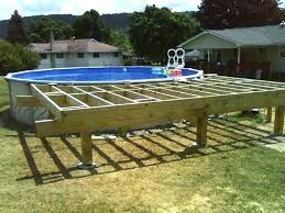 above ground pools and deck how to build a deck around an above ground pool home designs idea deck around above ground pool how to build a deck around an
