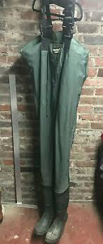 Itasca Marsh King Waders Size Chart Usa Made Original Servus Northerner Green Rubber Chest