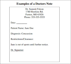 How To Fake A Doctors Note