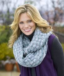Knit Infinity Scarf Pattern Simple Infinity Scarf Red Heart