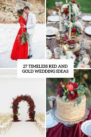 red gold wedding decoration ideas planning tools ideas