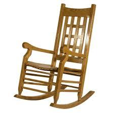 vintage wooden rocking chair design