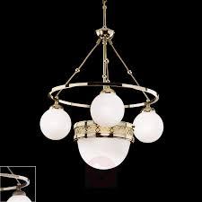 Alt Wien Hängeleuchte Mit Opalglas Kaufen Lampenweltch