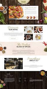 Restaurant Website Design Web Design Food Restaurant Layout Concept Web Design