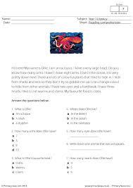 Elementary Reading Comprehension Worksheets Worksheets for all ...