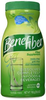 amazon benefiber fiber supplement 760g 190 servings sugar free health personal care