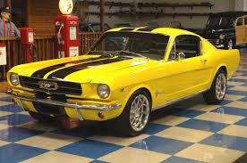 1965 FORD MUSTANG 2+2 FASTBACK K CODE – YELLOW / BLACK – A&E ...