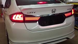 Honda City Gm6 Tri Line Light Bar Tail Lamp With Sequential Turn