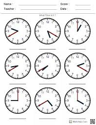 Telling Time Worksheets Grade 3 Worksheets for all | Download and ...