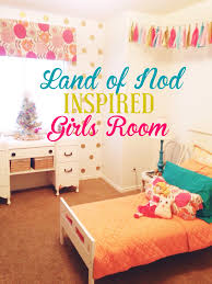 Budget Land of Nod Inspired Girls Room