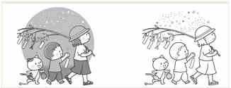 七夕の無料イラストまとめ白黒や塗り絵の可愛い素材11サイト厳選日々