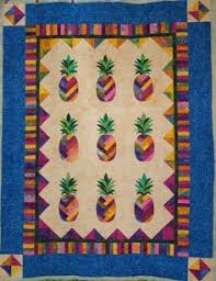 Sunshine Pineapple Quilt Pattern | Pineapple quilt pattern ... & HAWAI'IANA======================== Laura S Hawaiian Pineapple quilt--beautiful--so  is the quilting Adamdwight.com