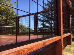 Image Cattle Fence Center Match Roof Decking Geeknightco Wild Hog Railing