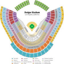 Dodgers Seating Chart With Rows Dodger Stadium Seating Chart Views And Reviews Los