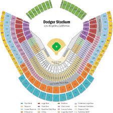 Dodger Stadium Seating Chart Views And Reviews Los