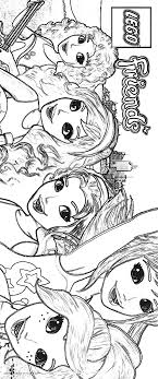 Lego Friends Printable Coloring Pages 8952131 Attachment