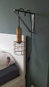 Bedlampje Staal Industrieel Slaapkamer Diy Lampslaapkamer