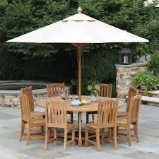 round teak table minton 6 ft round