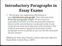 opening paragraphs start out a wow ppt video online  introductory paragraphs in essay exams