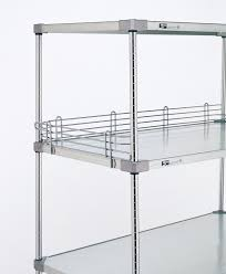 Stainless Steel Shelves Metro 4 Inch Shelf Ledges Solid Shelves Stainless Steel Shelving