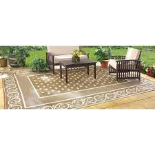 guide gear reversible patio mat outdoor for lovely 9x12 rug rugs your residence idea outdoor mat