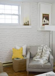 how to install white brick wallpaper