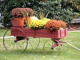 amish wagon decorative garden planter harvest wagon amish wagon decorative  garden planter green .