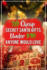 20 secret santa gifts under 10 anyone would love