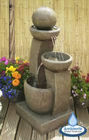 h109cm friendship fountain water