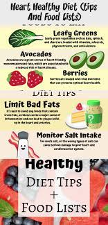 In this post I'm going to cover some diet tips, as well as what foods you  should eat, and what foods you should …   Heart healthy diet, Healthy diet  tips, Diet