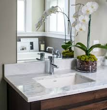 create the simple bathroom sink with undermount bathroom sinks